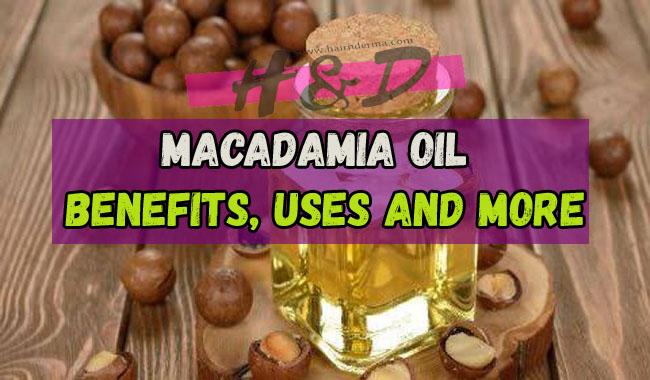 macadamia oil uses